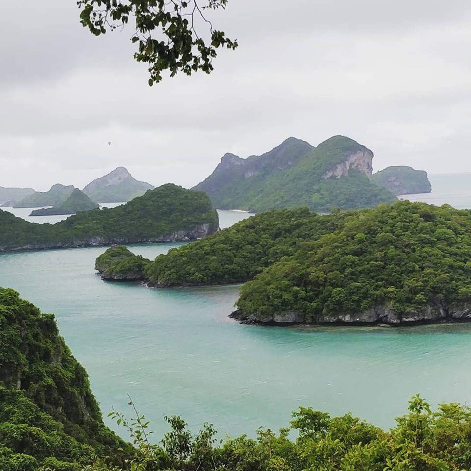 A view of Ang thong Marine National Park, Koh Samui, Thailand